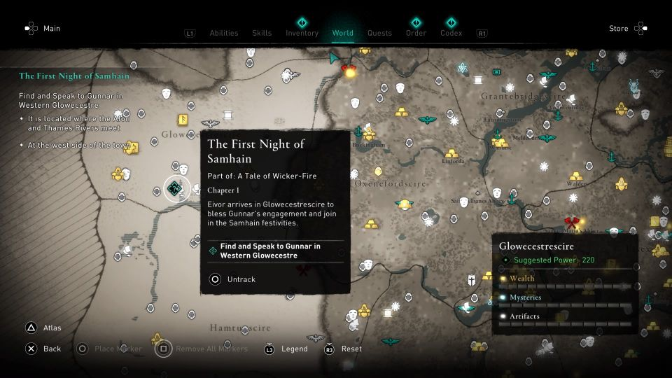 ac valhalla the first night of samhain guide