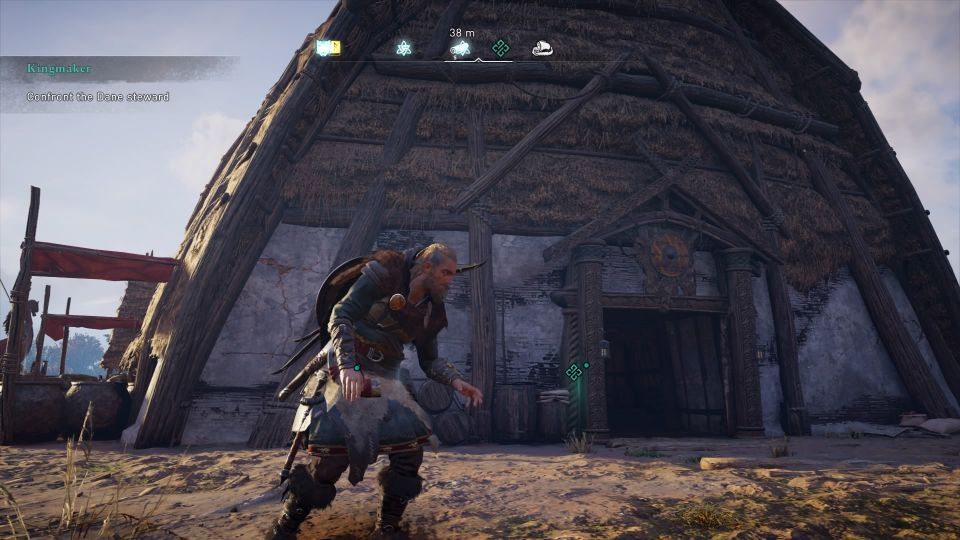 ac valhalla - the kingmaker quest