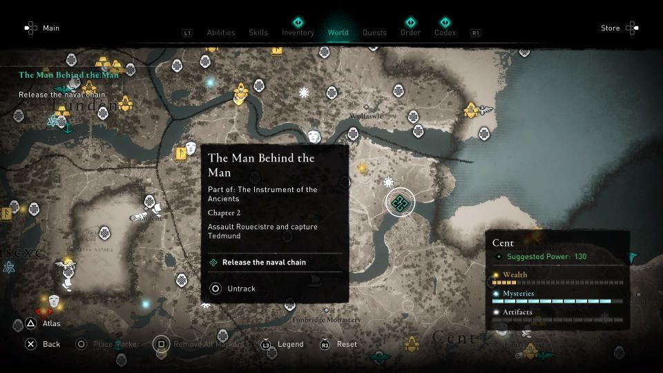 ac valhalla - the man behind the man guide