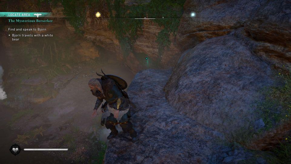 ac valhalla - the mysterious berserker quest