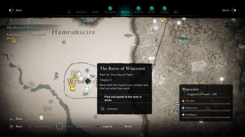 ac valhalla - the reeve of wincestre guide