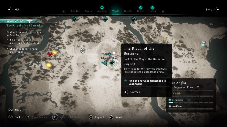 ac valhalla - the ritual of the berserker guide
