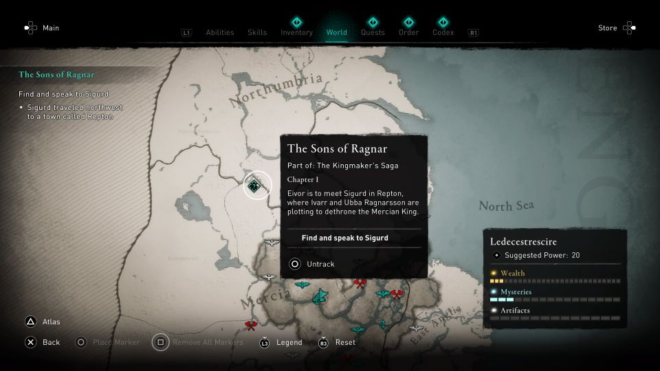 ac valhalla - the sons of ragnar guide