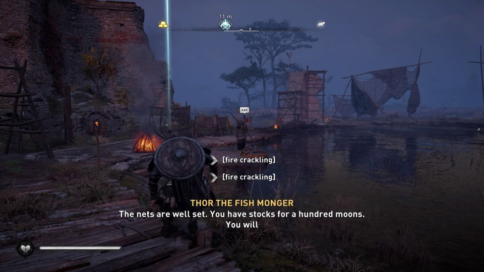 ac valhalla - thor the fishmonger guide