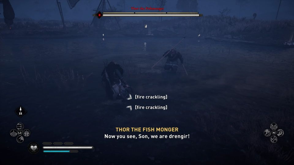 ac valhalla - thor the fishmonger how to win