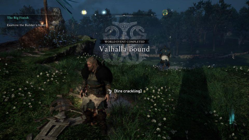ac valhalla - valhalla bound walkthrough