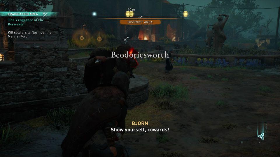ac valhalla - vengeance of the berserker walkthrough