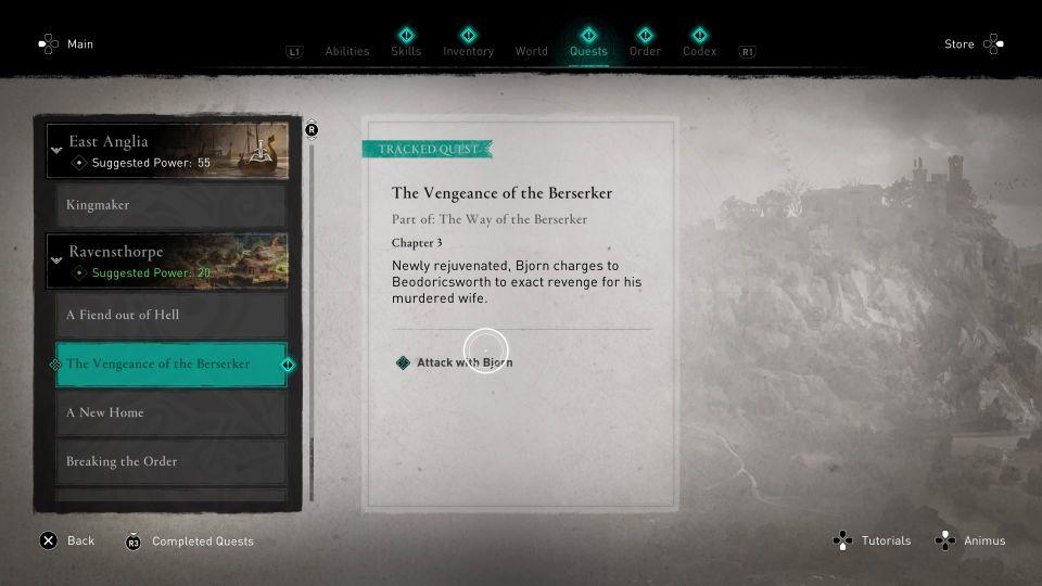 ac valhalla - vengeance of the berserker