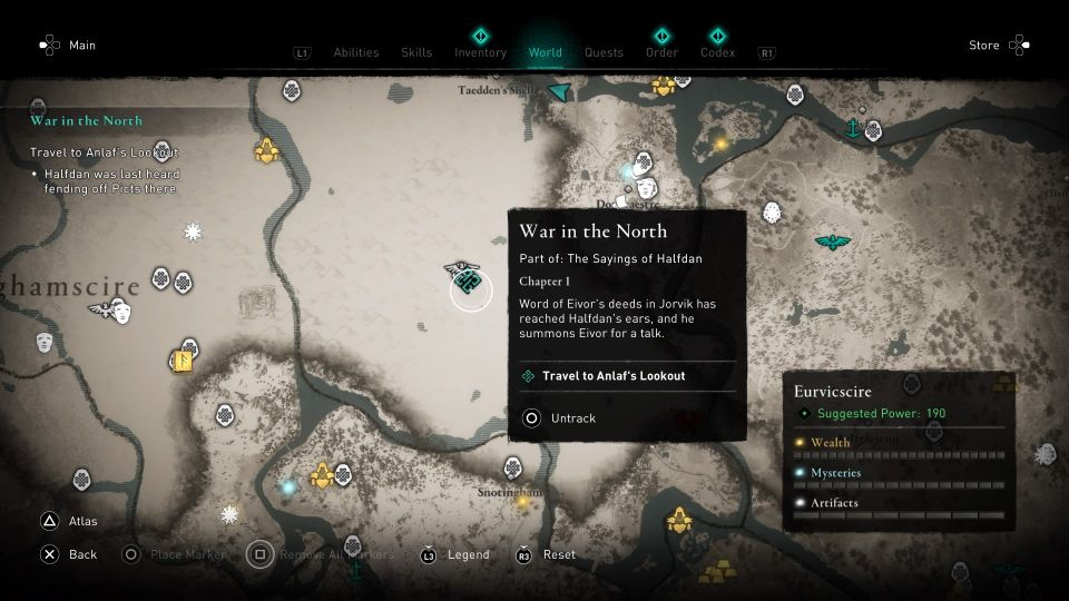 ac valhalla - war in the north guide