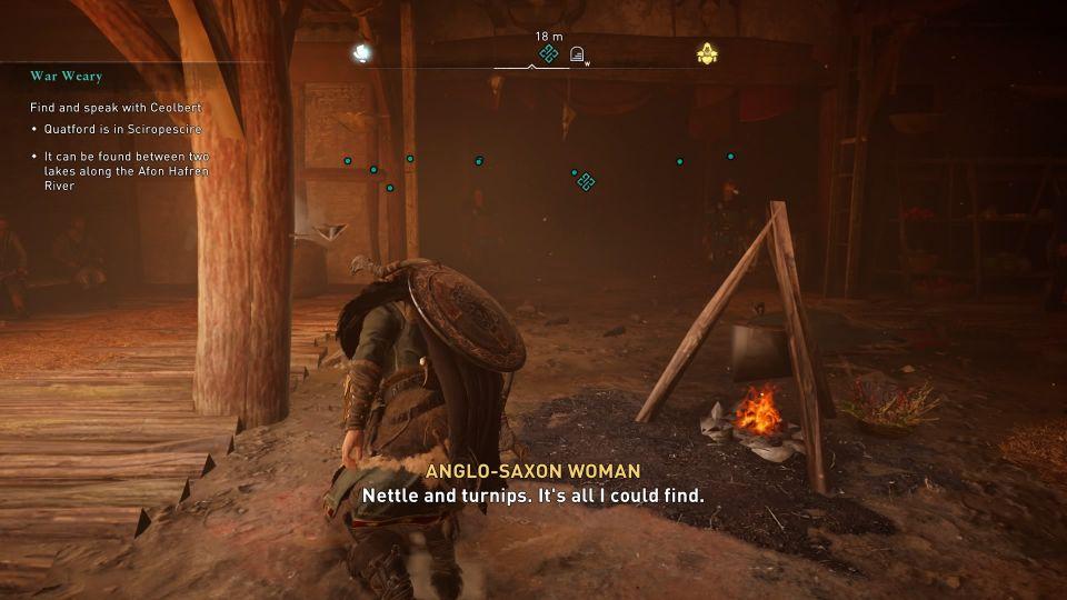 ac valhalla - war weary quest