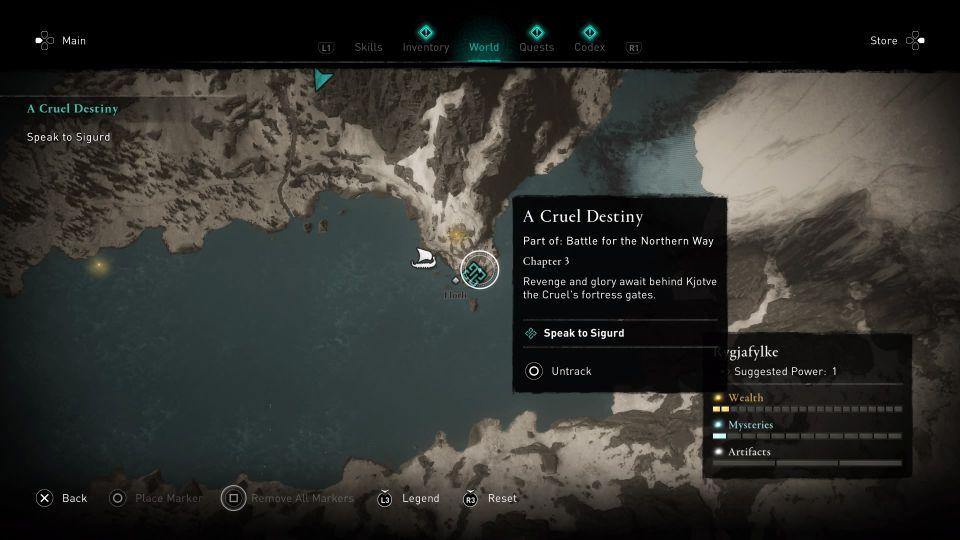 assassins creed valhalla - a cruel destiny guide
