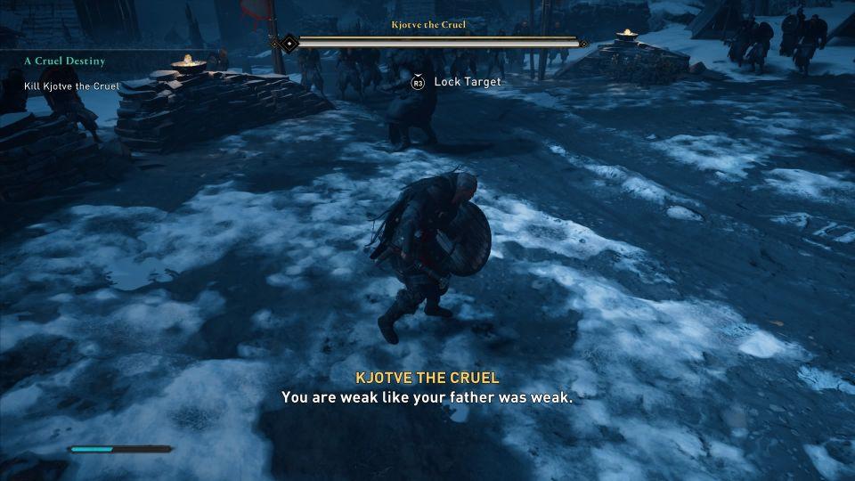 assassins creed valhalla - a cruel destiny quest guide