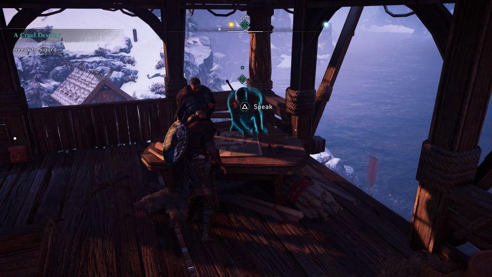 assassins creed valhalla - a cruel destiny quest