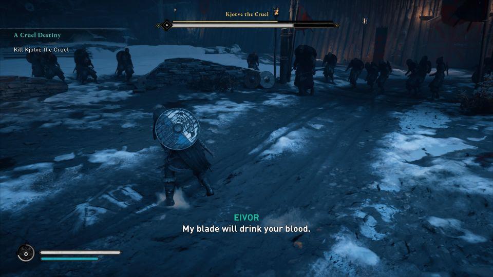 assassins creed valhalla - a cruel destiny walkthrough