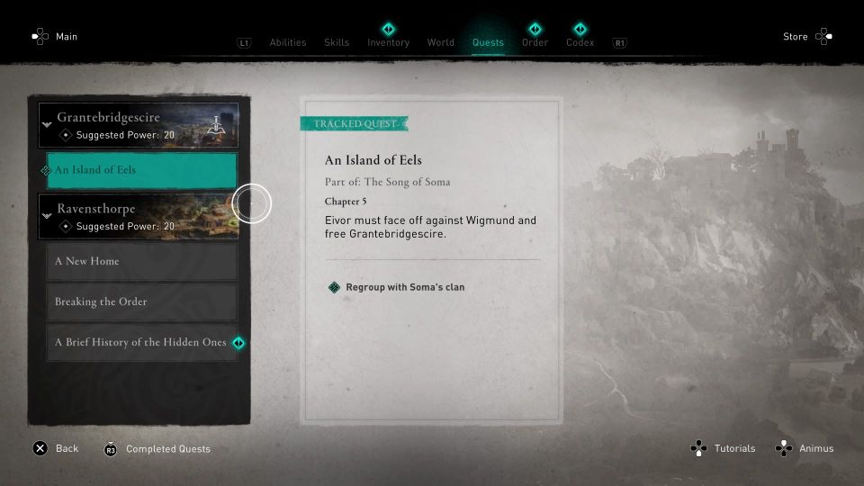 assassin's creed valhalla - an island of eels
