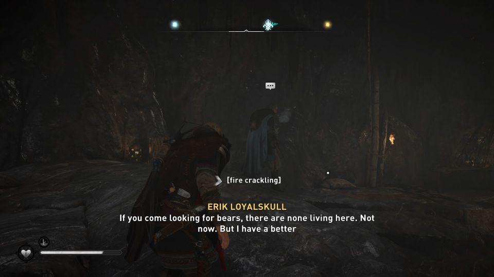 assassin's creed valhalla - erik loyalskull location