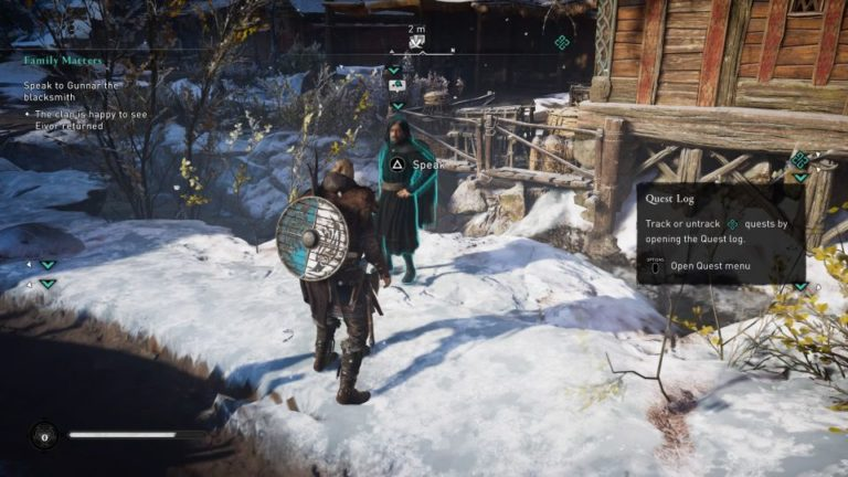 assassins creed valhalla - family matters guide
