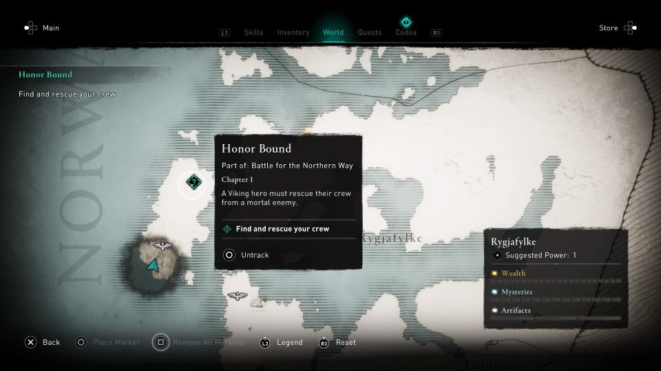 assassins creed valhalla - honor bound guide