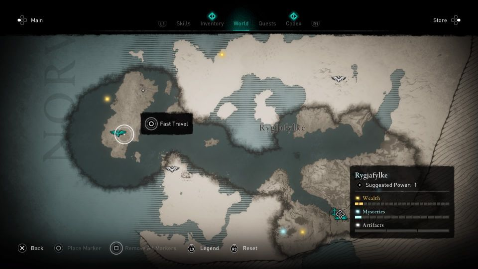 assassins creed valhalla how to sync location