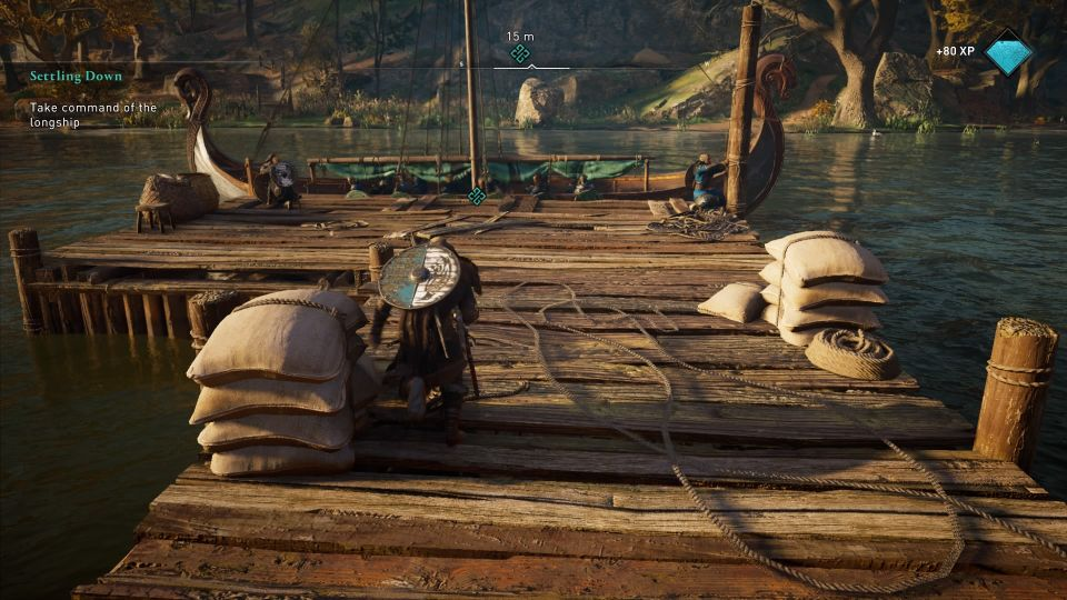 assassins creed valhalla - settling down quest