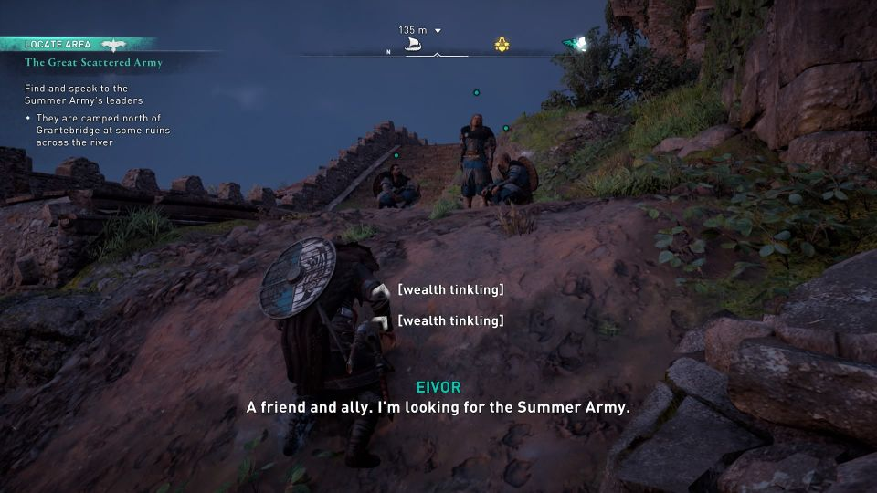 assassins creed valhalla - the great scattered army quest guide