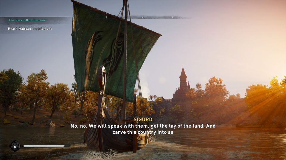 assassins creed valhalla - the swan-road home guide