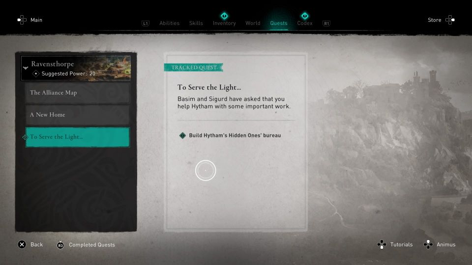 assassin's creed valhalla - to serve the light