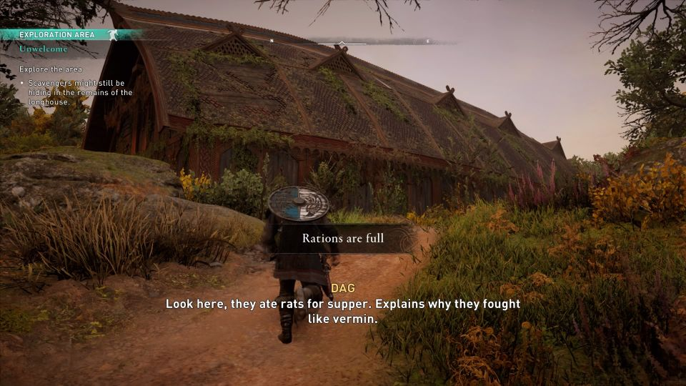 assassins creed valhalla - unwelcome quest walkthrough