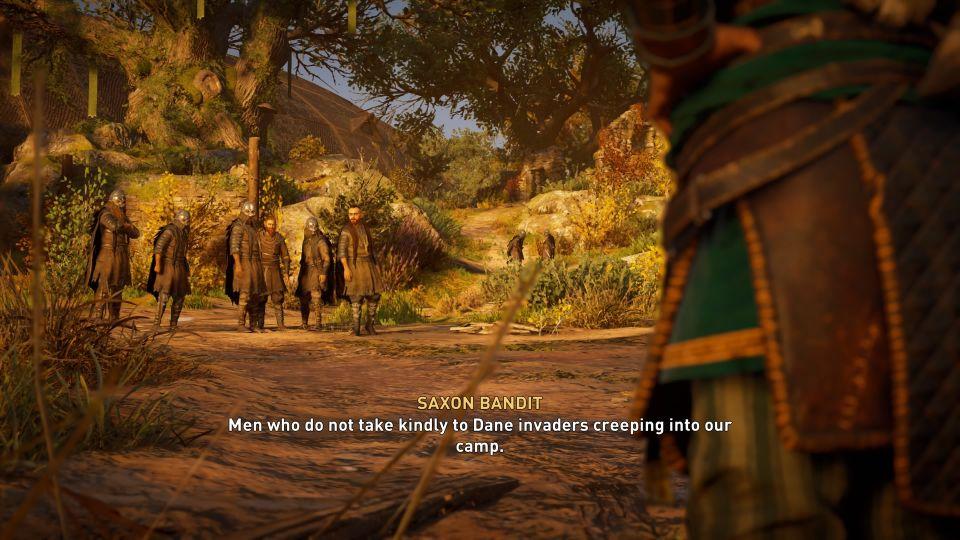 assassins creed valhalla - unwelcome