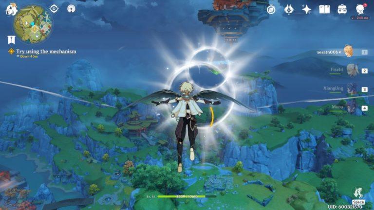 genshin impact - the floating palace wiki