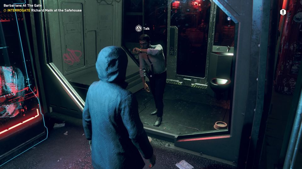 watch dogs legion - barbarians at the gate mission walkthrough
