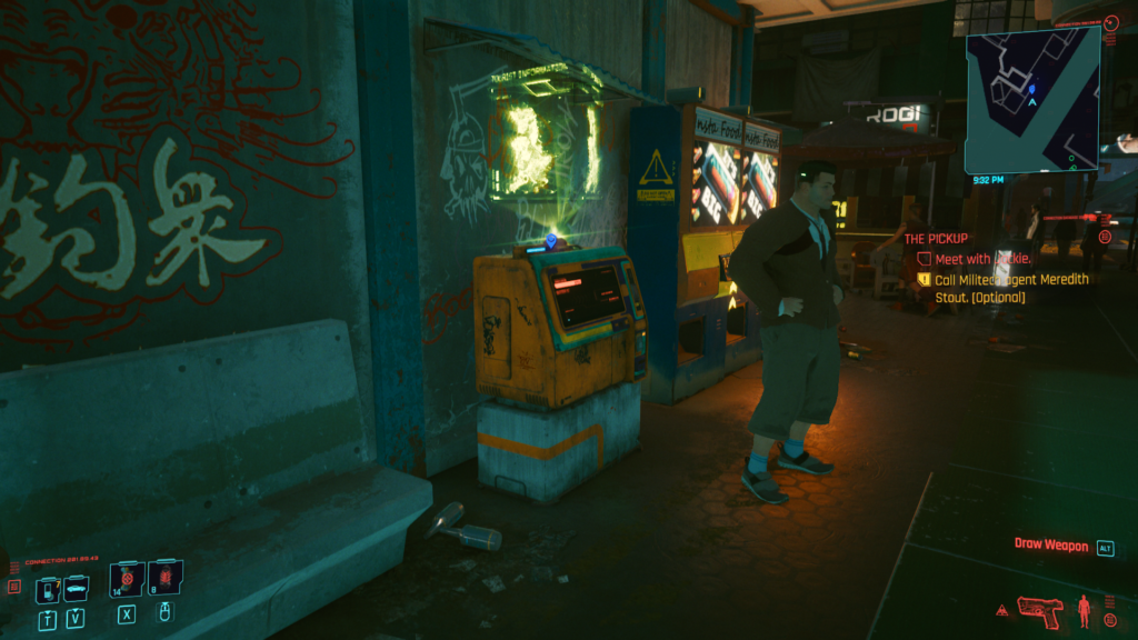 cyberpunk 2077 how to fast travel