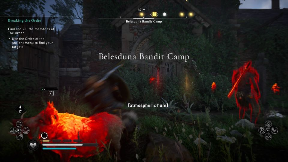 ac valhalla belesduna bandit camp book guide