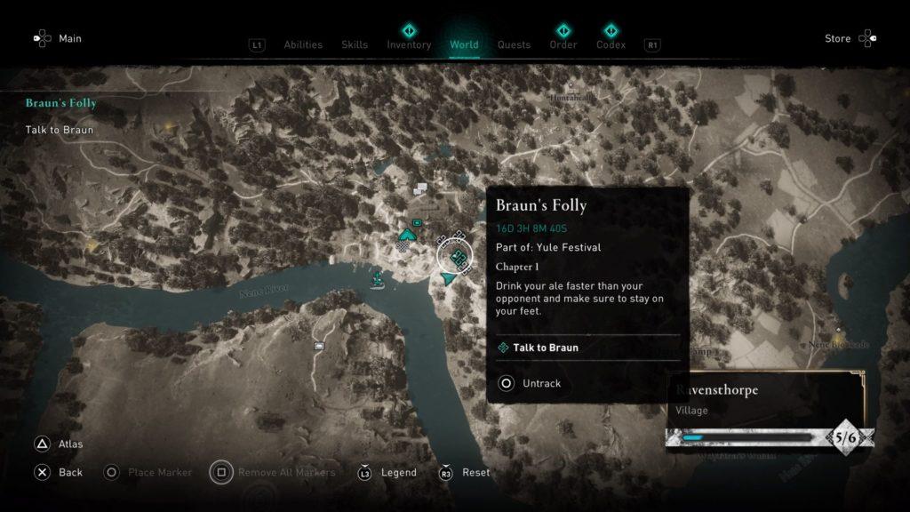 ac valhalla - braun's folly guide