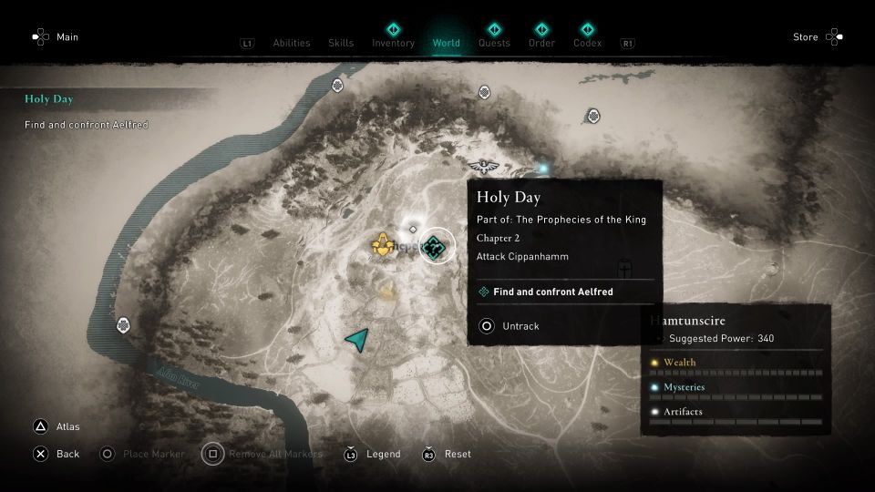 ac valhalla holy day tips