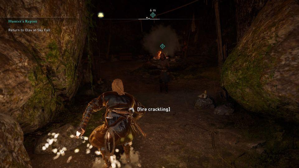 ac valhalla - hunter's repast quest