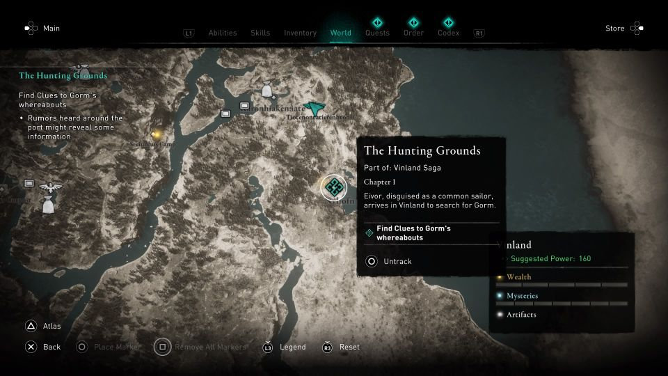 ac valhalla the hunting grounds guide
