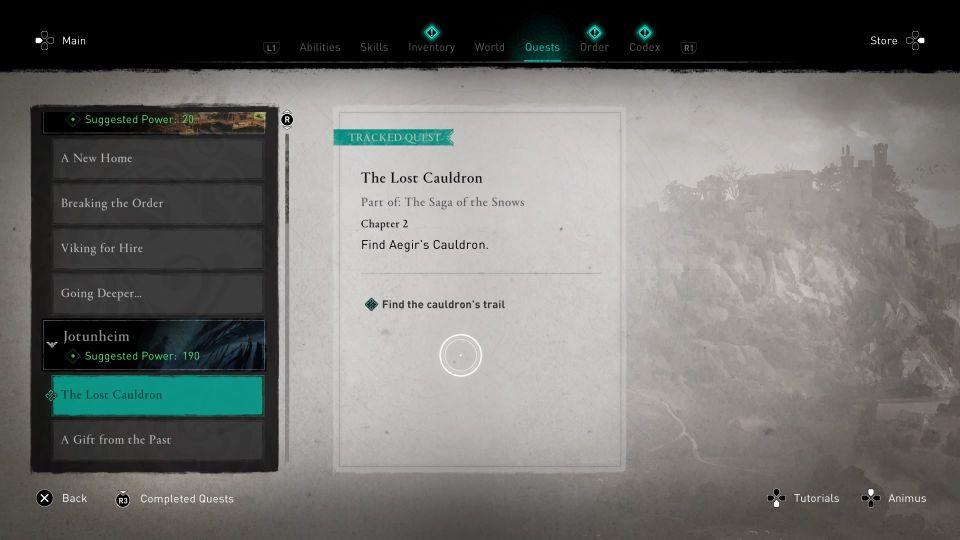 ac valhalla the lost cauldron