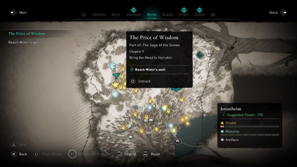 ac valhalla the price of wisdom guide