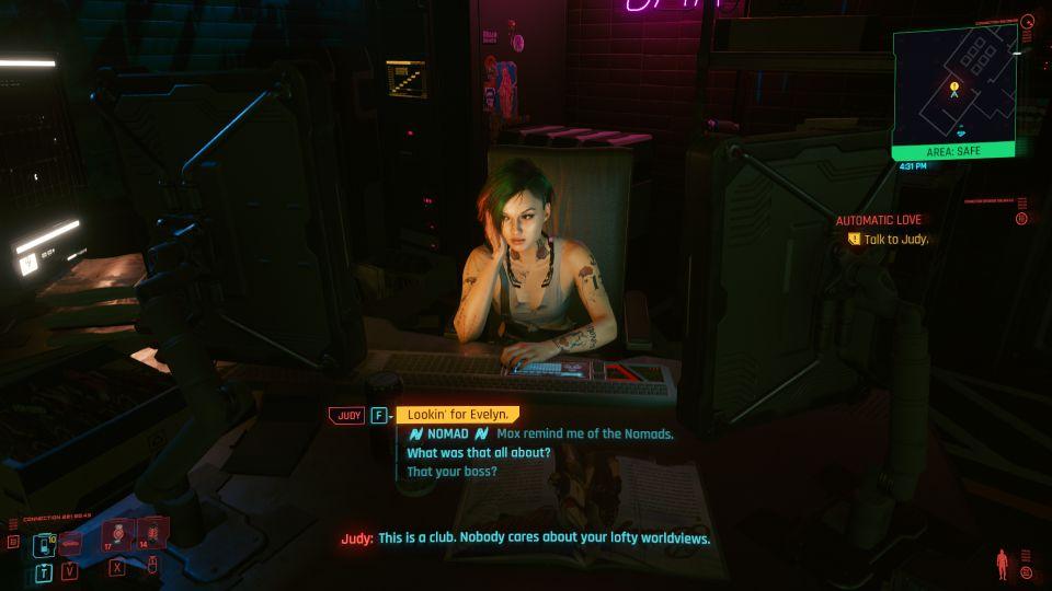 cyberpunk 2077 - automatic love job