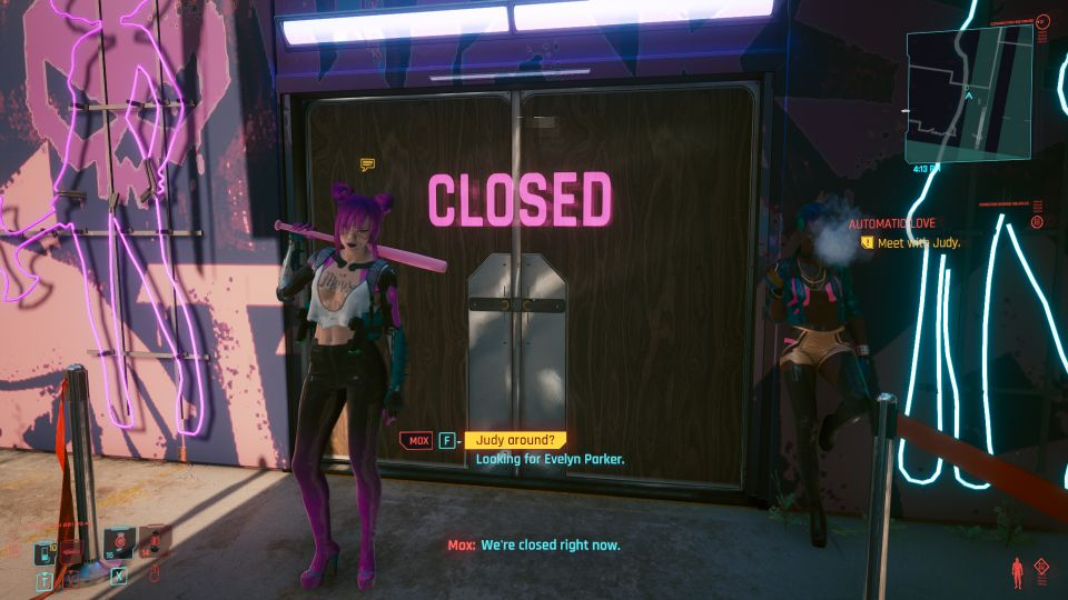 cyberpunk 2077 - automatic love mission