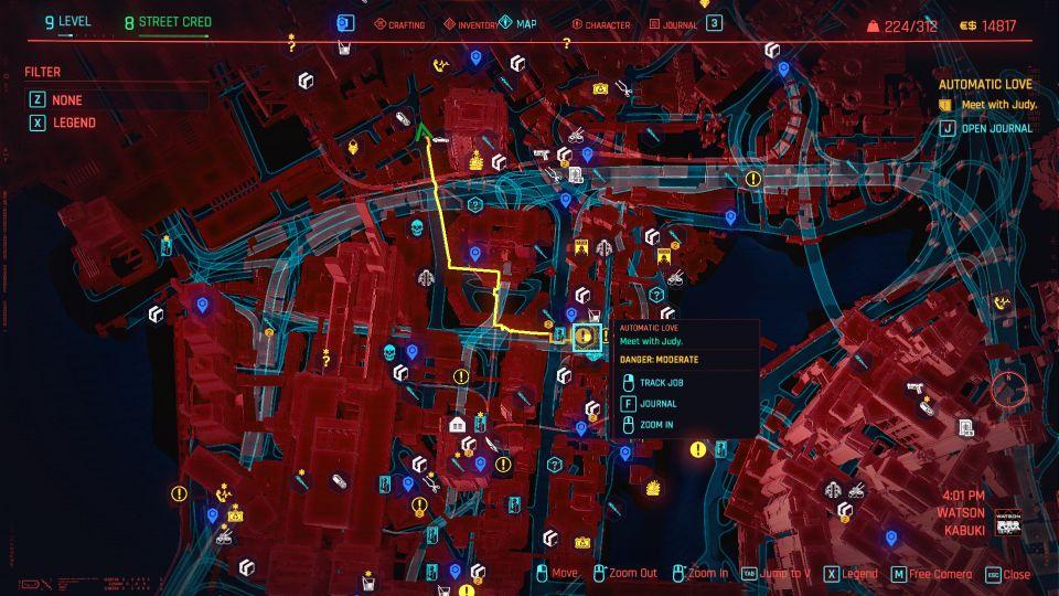 cyberpunk 2077 - automatic love quest