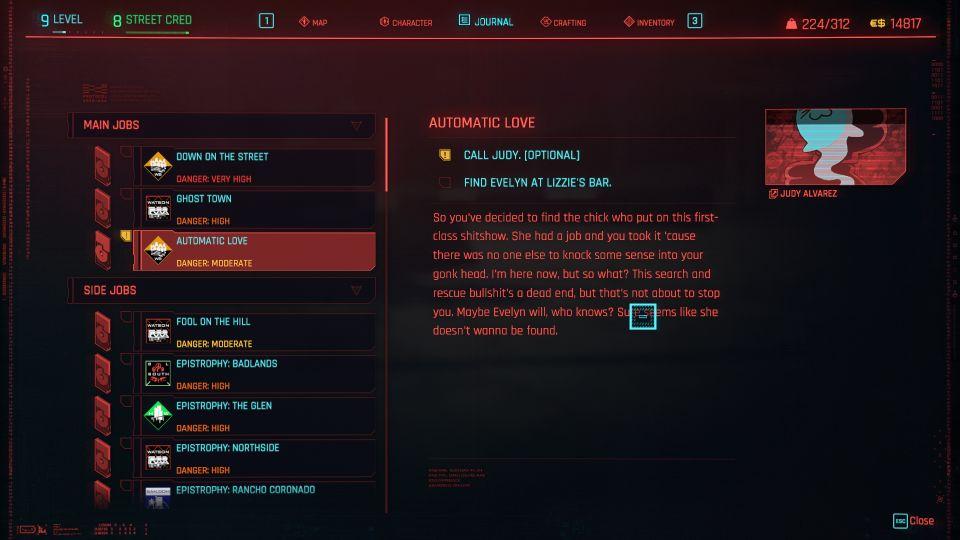 cyberpunk 2077 - automatic love
