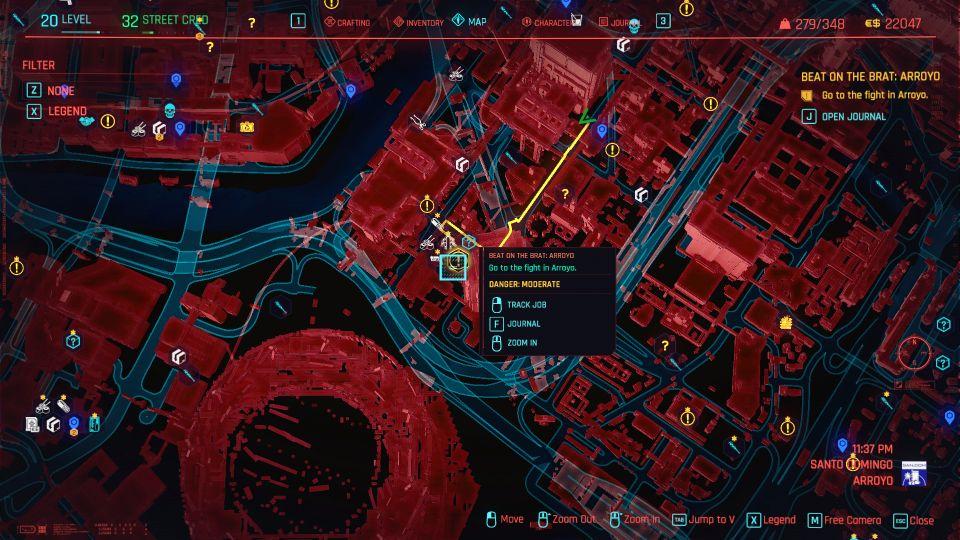 cyberpunk 2077 - beat on the brat arroyo guide