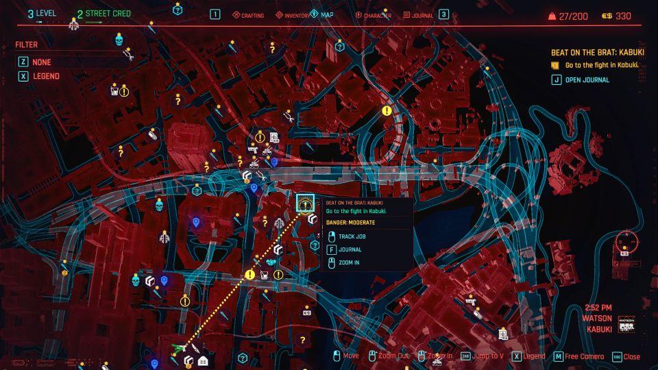 cyberpunk 2077 - beat on the brat kabuki guide