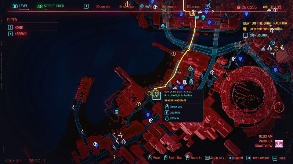 cyberpunk 2077 - beat on the brat pacifica guide