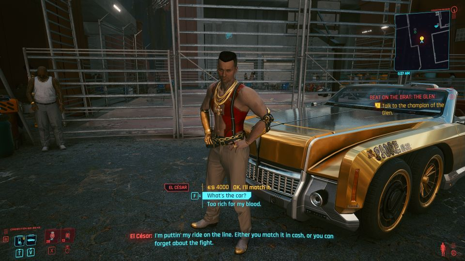 cyberpunk 2077 - beat on the brat the glen wiki