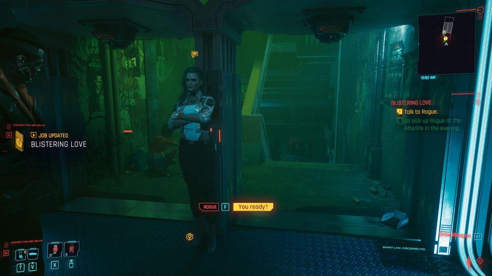 cyberpunk 2077 - blistering love walkthrough