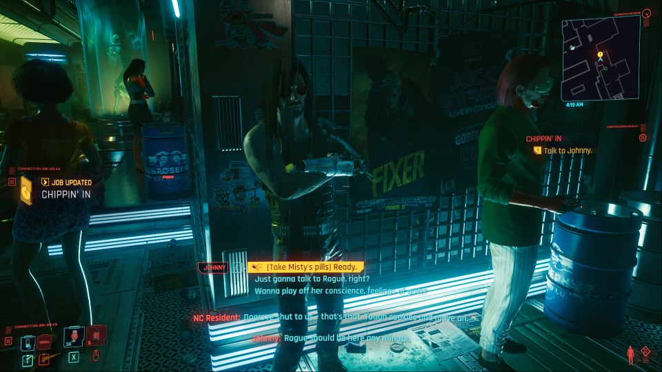 cyberpunk 2077 - chippin' in mission