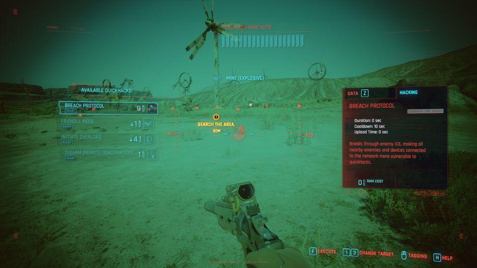 cyberpunk 2077 - dancing on a minefield mission